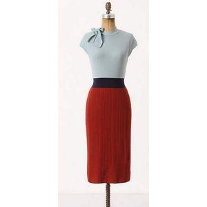 💃🏻 Anthropologie • Tie Neck Sweater Dress